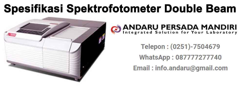 spesifikasi-spektrofotometer-double-beam