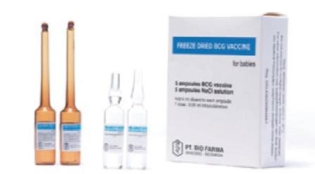 Vaksin BCG (Beku Kering) Bio Farma