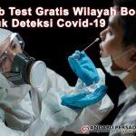 Swab Test Gratis Wilayah Bogor Untuk Deteksi Covid-19